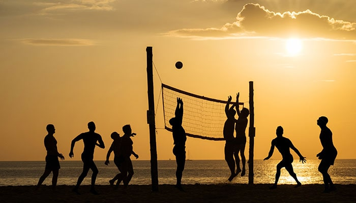 beach volley tournament