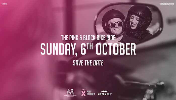 pink and black bike ride
